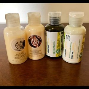 The Body Shop Travel Size Sample Set Of 4